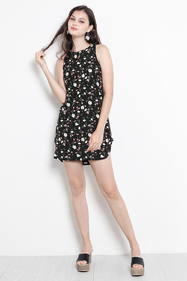 Andie Dress Black Floral