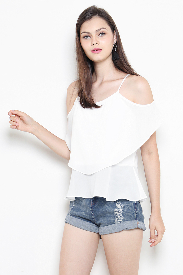 Ayesha Top White