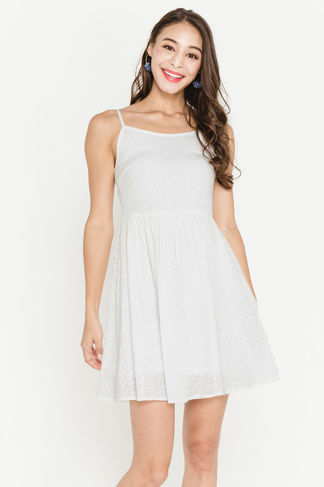 Janette Crochet Dress