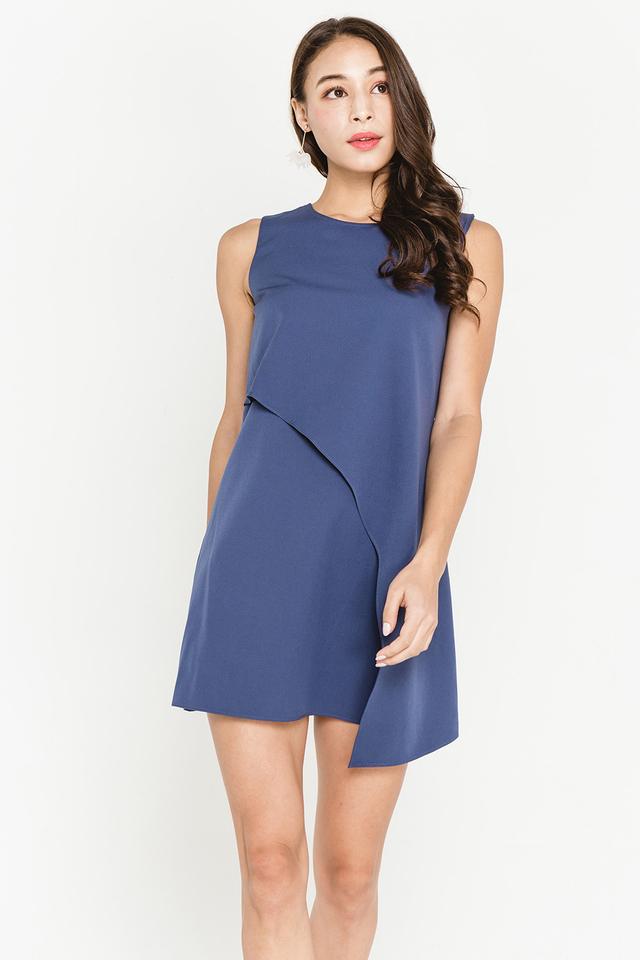 Meryl Dress Ash Blue