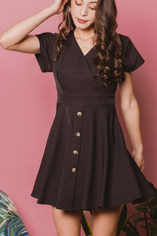 Leda Dress Black