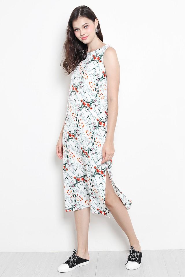 Tara Dress White Floral