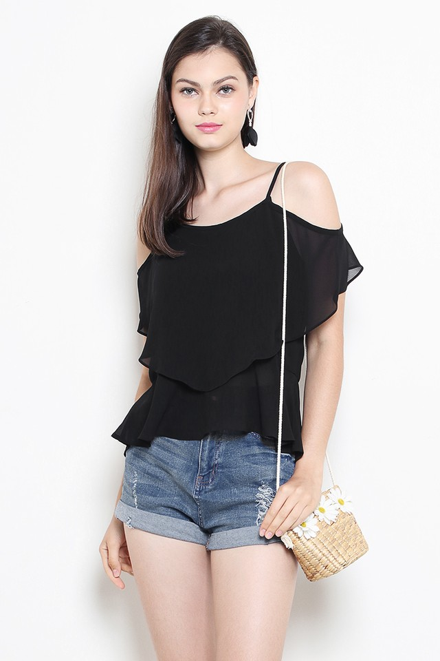 Ayesha Top Black