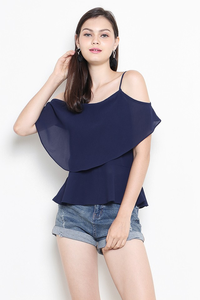 Ayesha Top Navy