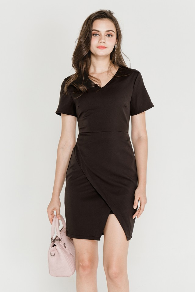 Paulette Dress Black