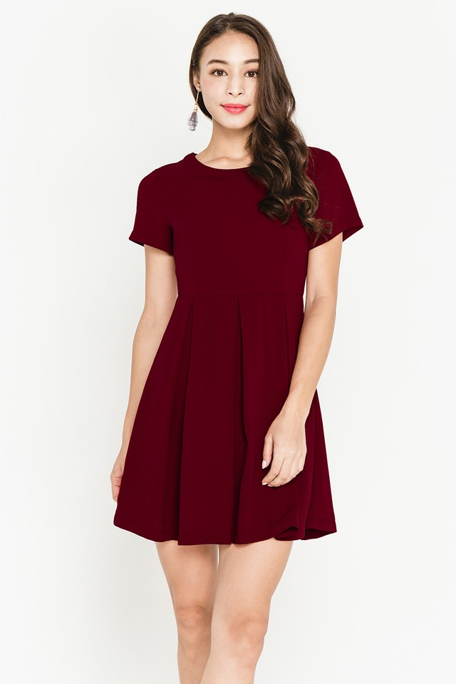 Indira Dress Wine