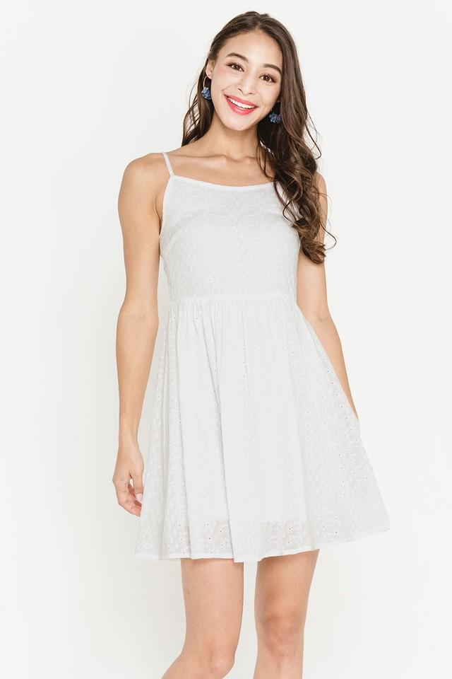 Janette Crochet Dress