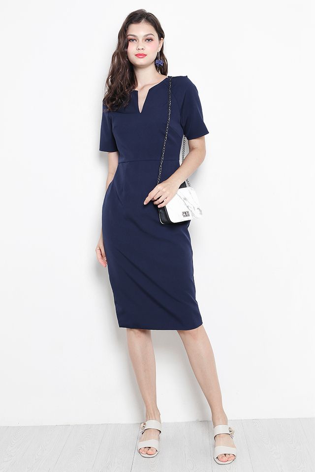 Jaida Dress Navy