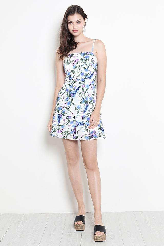 Evelina Dress White Floral