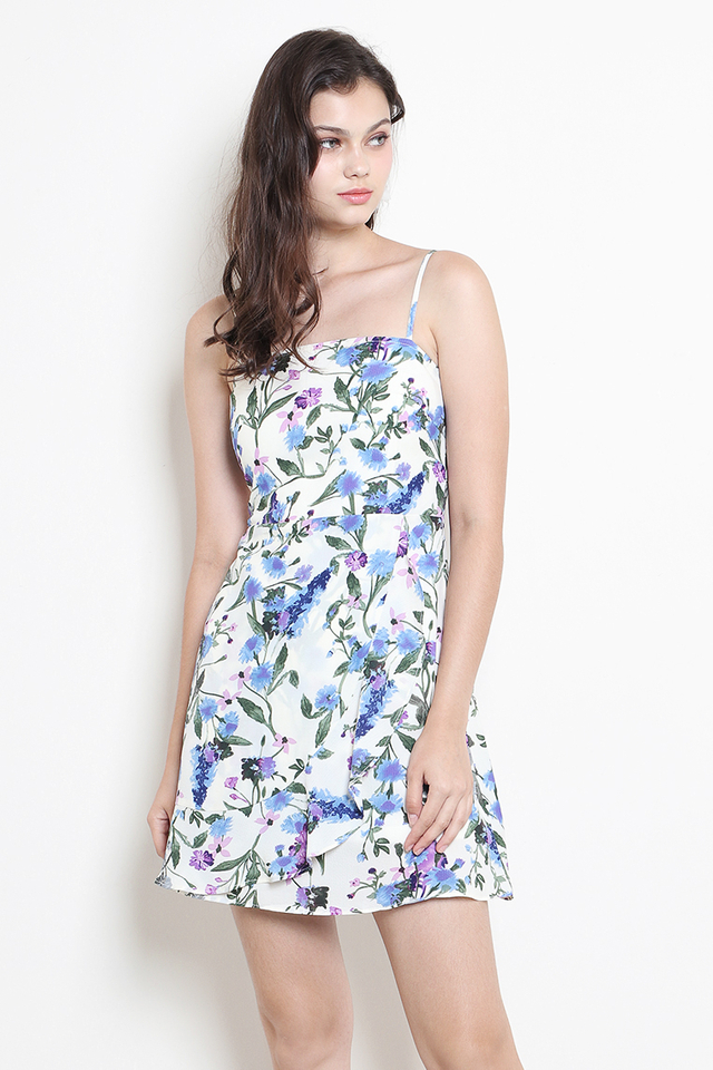 Evelina Dress White Floral