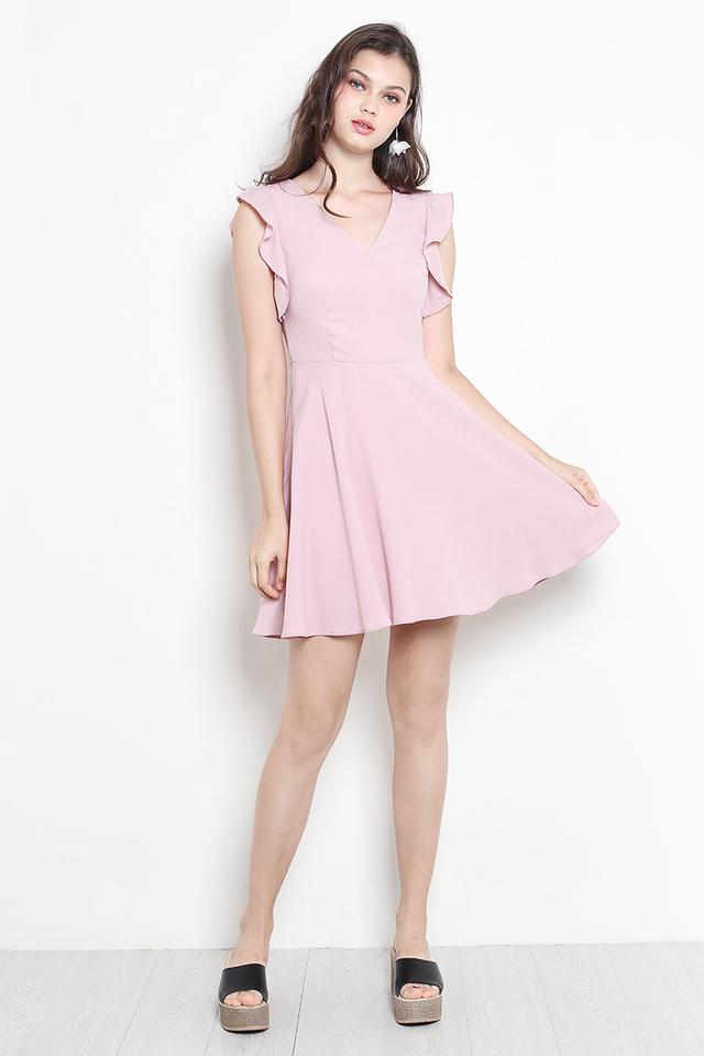 Luann Dress Pink