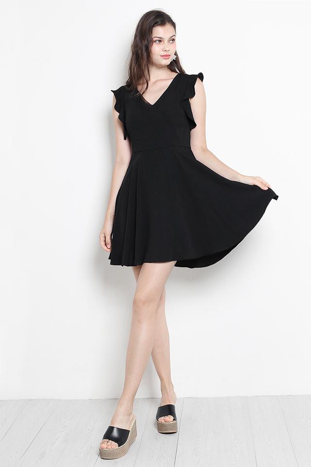 Luann Dress Black