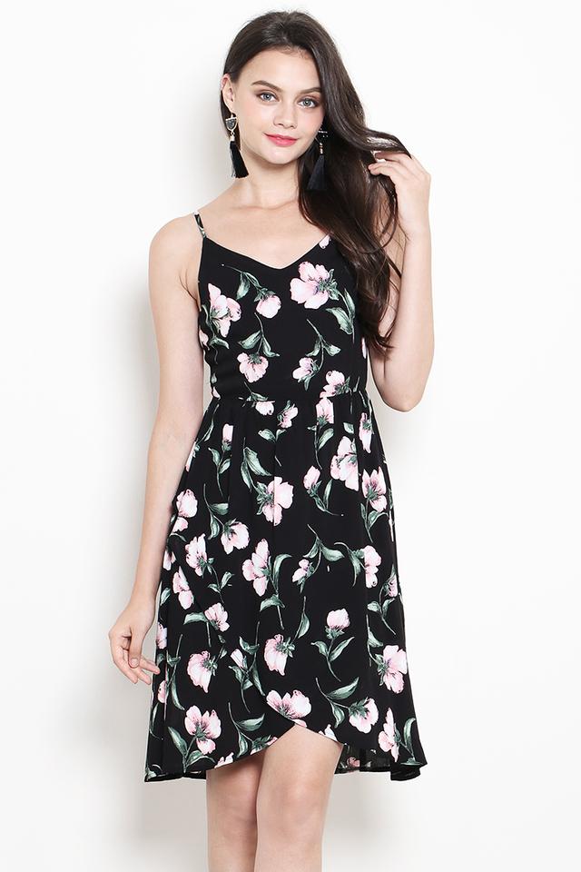 Wilma Dress Black Floral