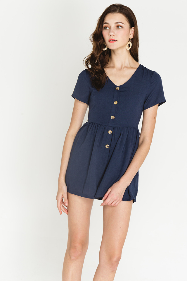 Charley Playsuit Navy