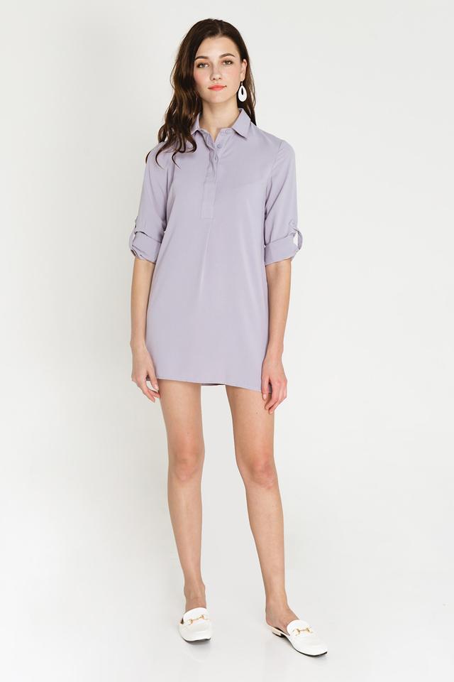 Ondine Shirtdress Grey