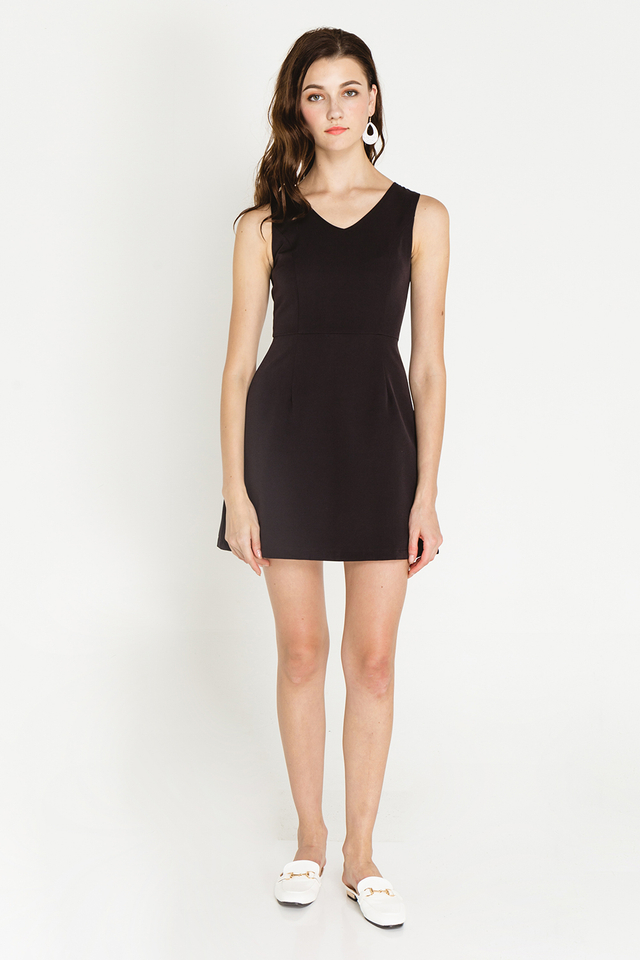 Martine Dress Black