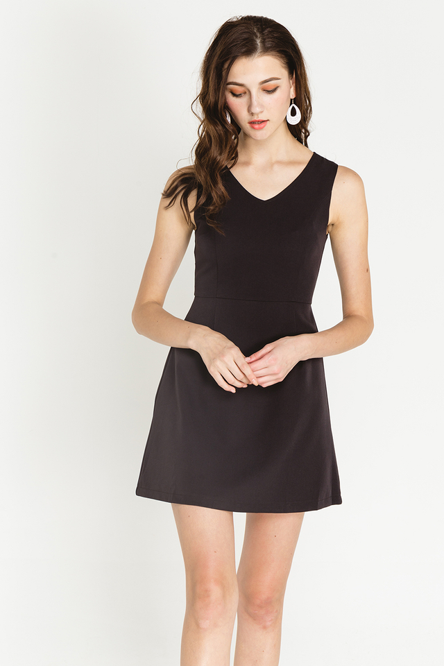 Martine Dress Black