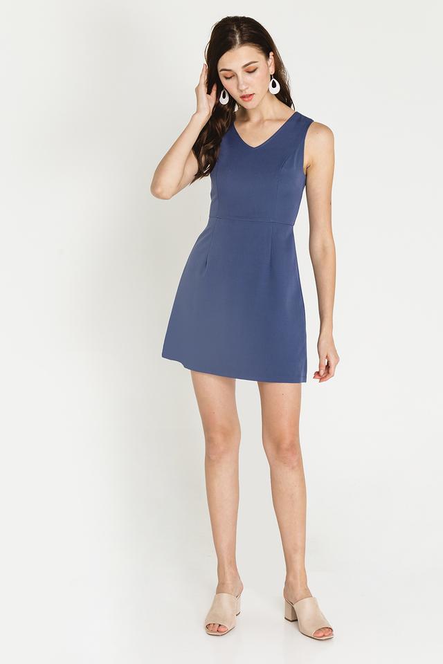 Martine Dress Ash Blue