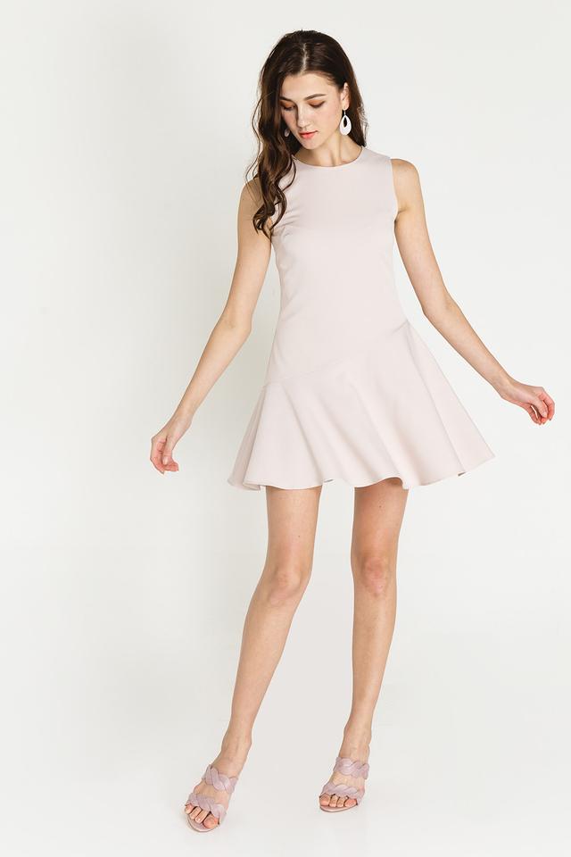 Elva Dress Almond