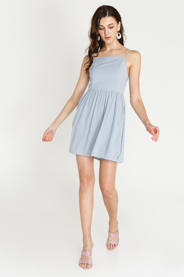 Jeri Dress Powder Blue