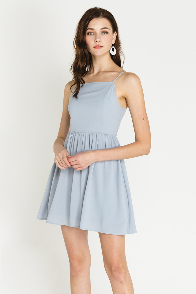 Jeri Dress Powder Blue