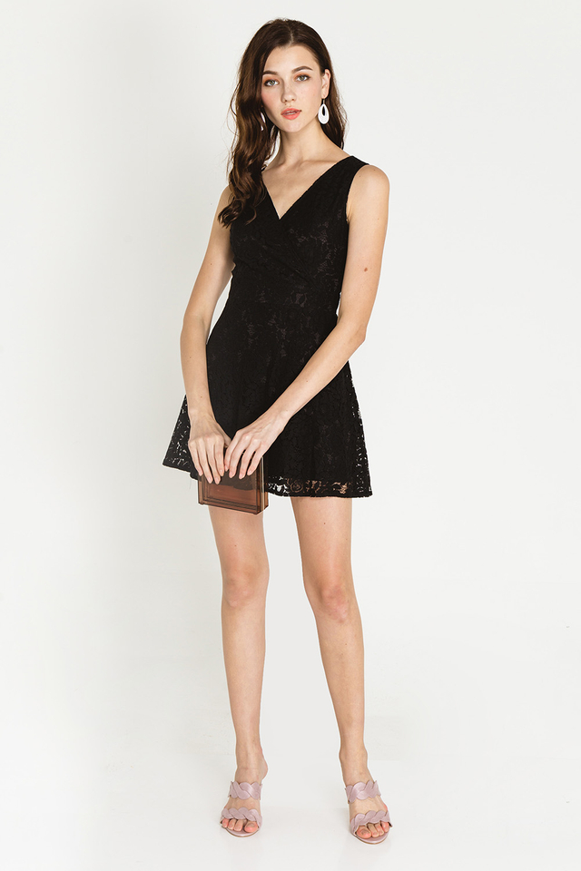 Ronda Dress Black