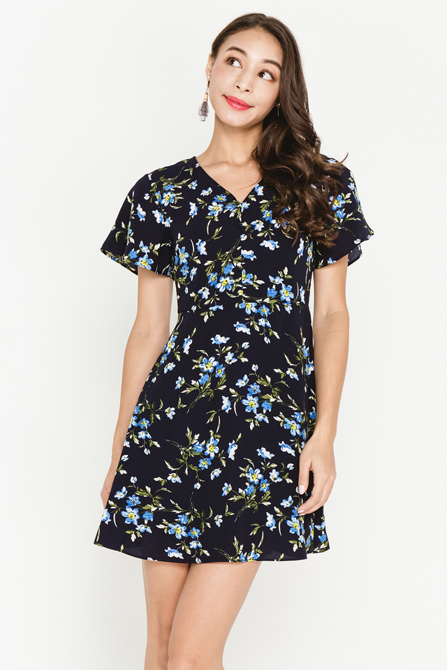 Torin Dress Navy Floral