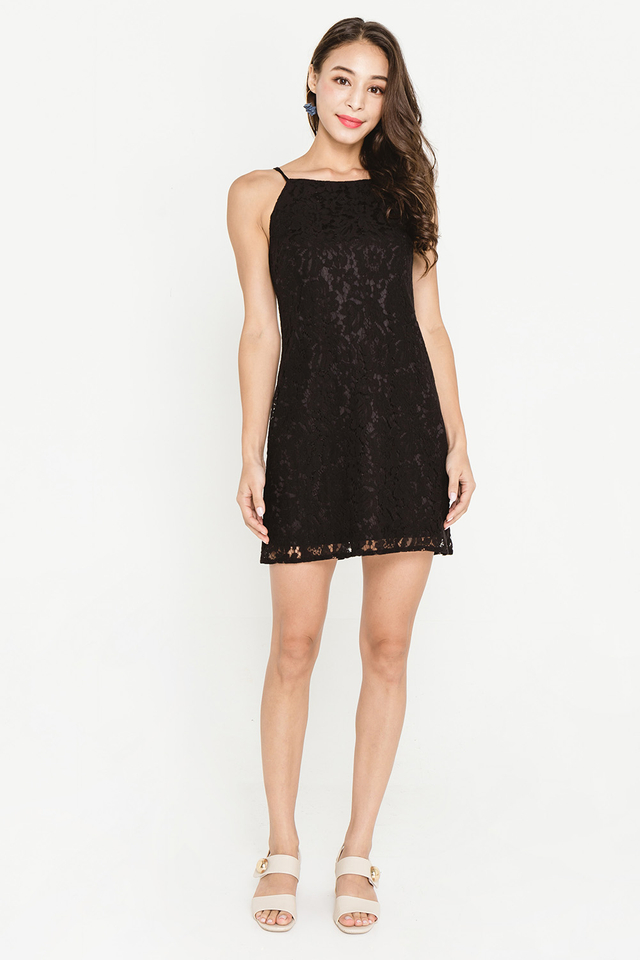 Aeryn Lace Dress Black