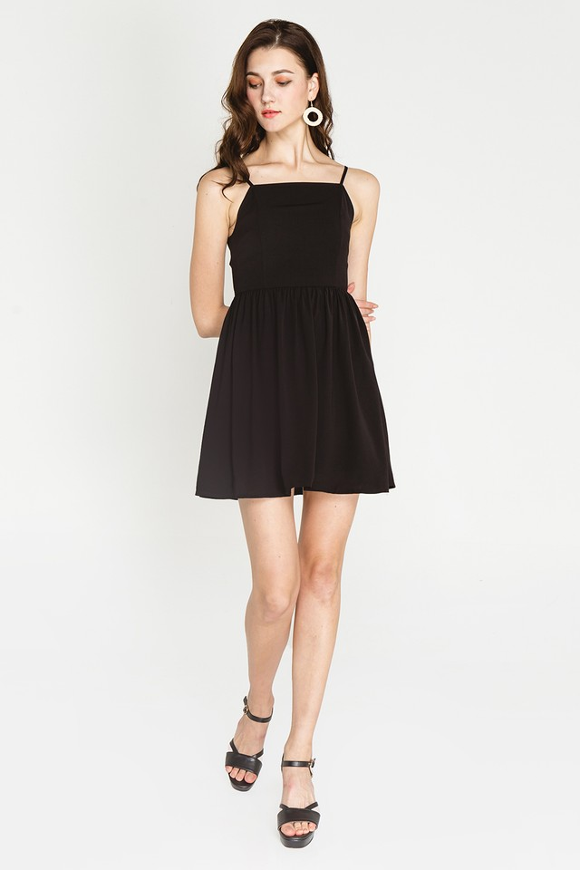 Jeri Dress Black