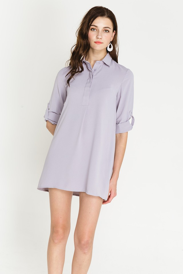 Ondine Shirtdress Grey