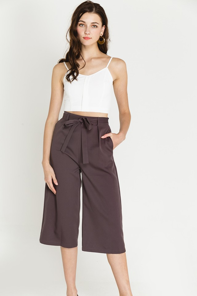 Elody Culottes Dark Grey