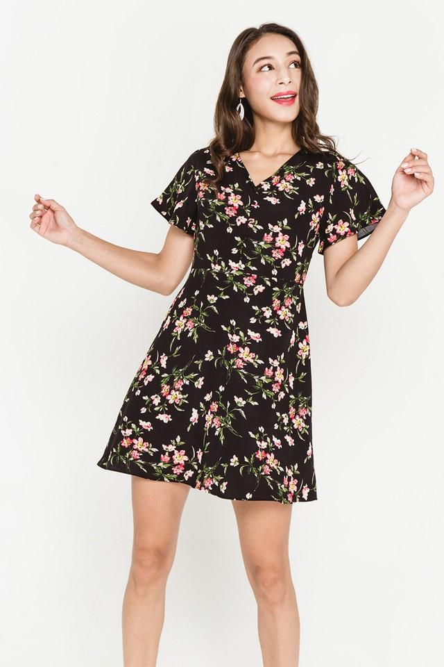 Torin Dress Black Floral
