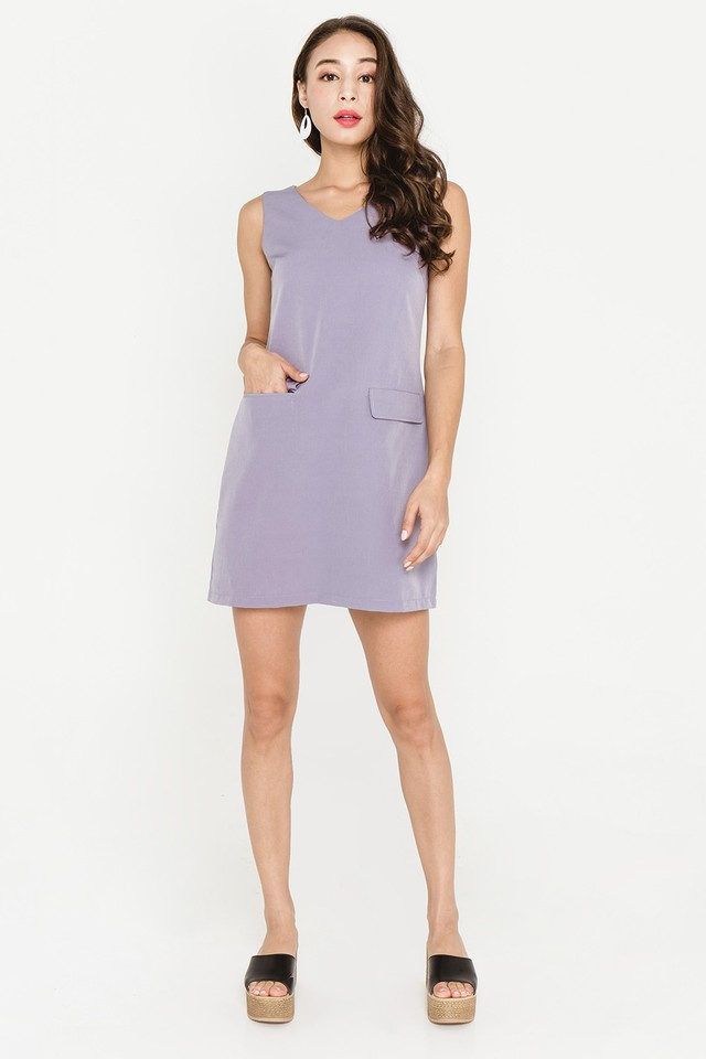Sheridan Dress Grey