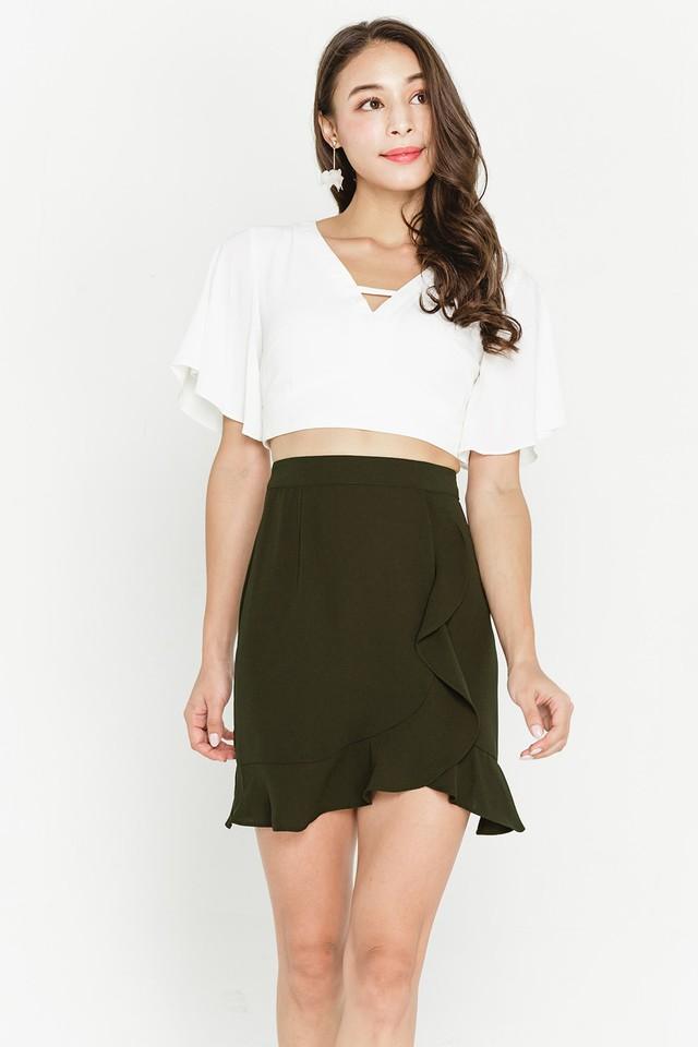 Destiny Skirt Olive
