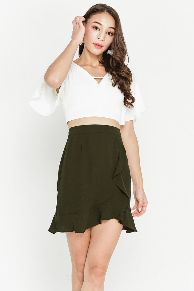 Destiny Skirt Olive