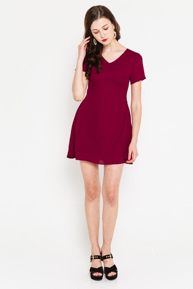 Reanna Dress Wine