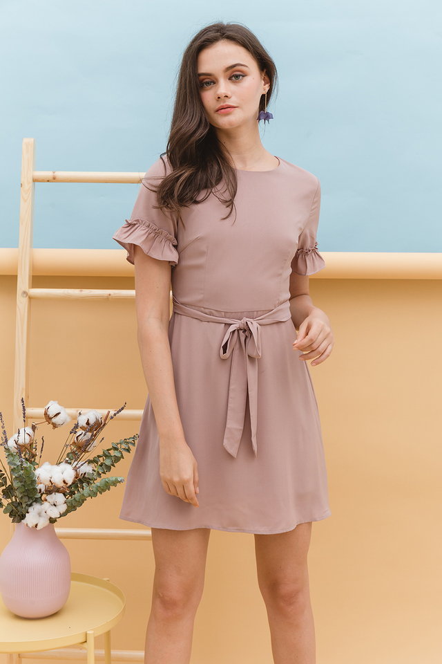 Nala Dress Dusty Pink