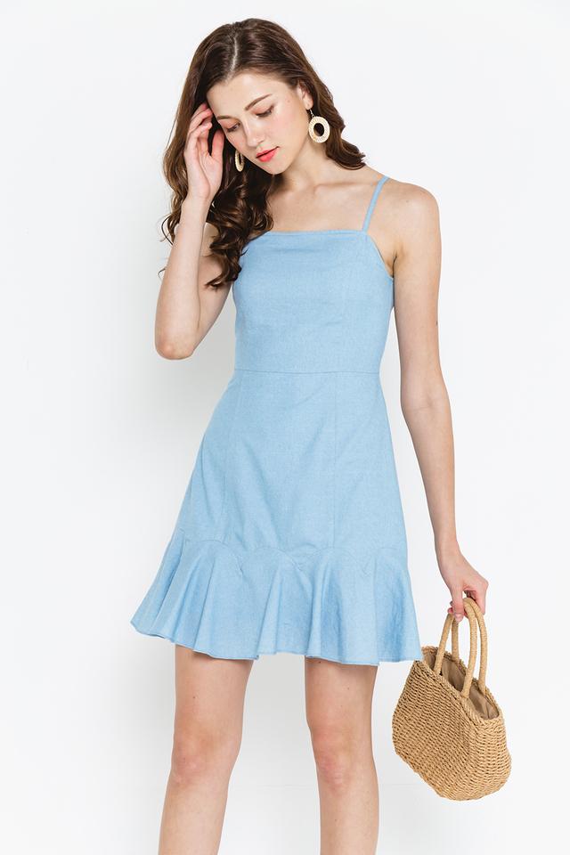 Brinley Denim Dress Light Wash