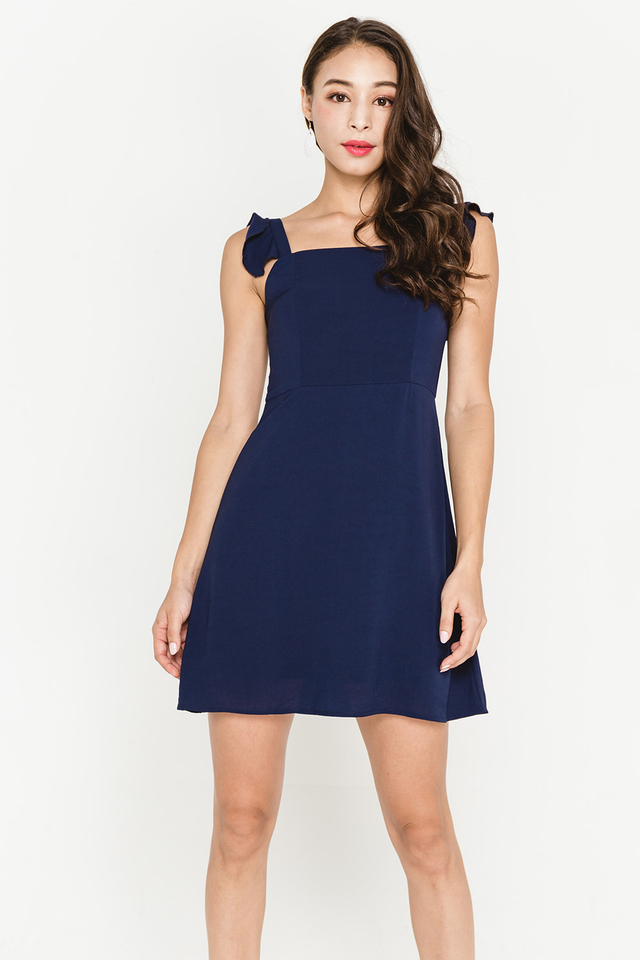 Darcey Dress Navy
