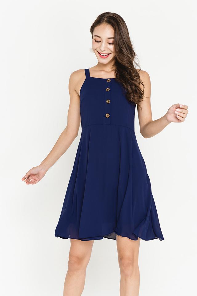 Violetta Dress Navy