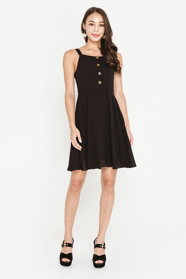 Violetta Dress Black