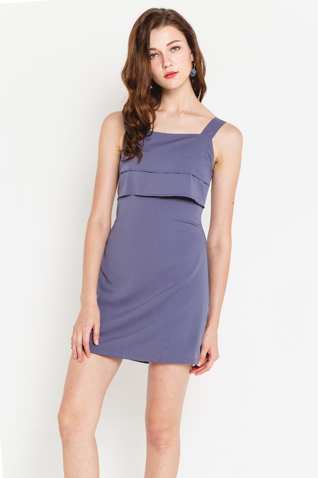 Wanda Dress Ash Blue