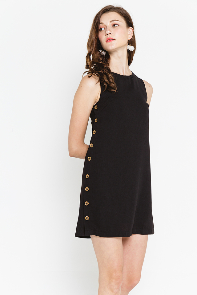 Dayne Dress Black