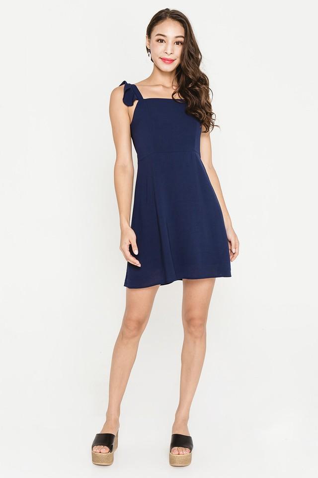 Darcey Dress Navy