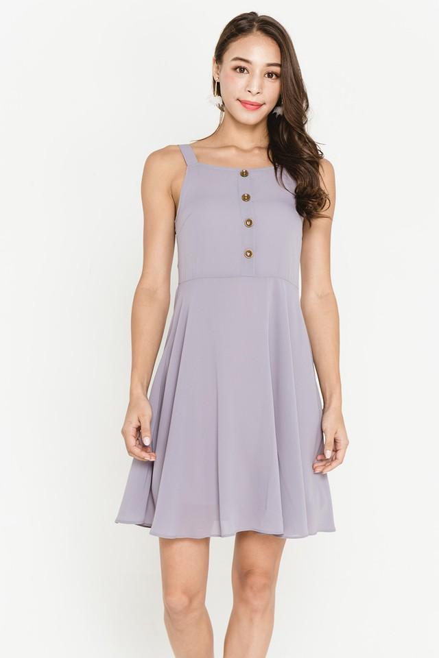 Violetta Dress Grey