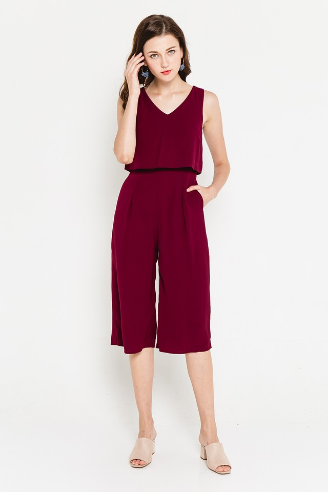Jorina Jumpsuit Wine