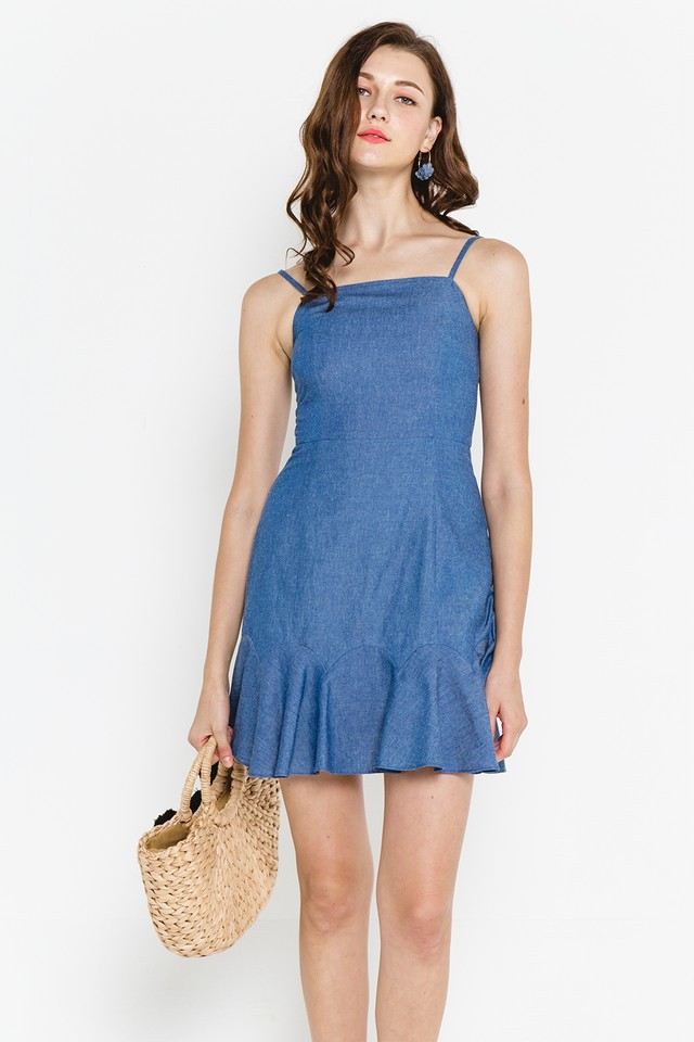 Brinley Denim Dress Medium Wash