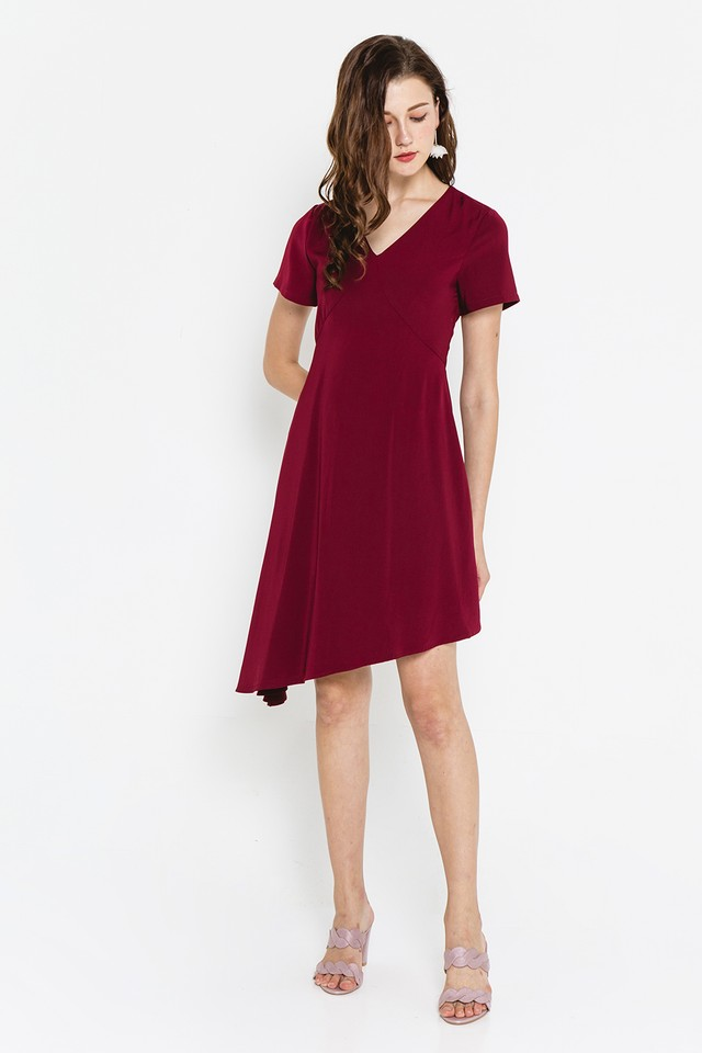 Ashtyn Dress Wine