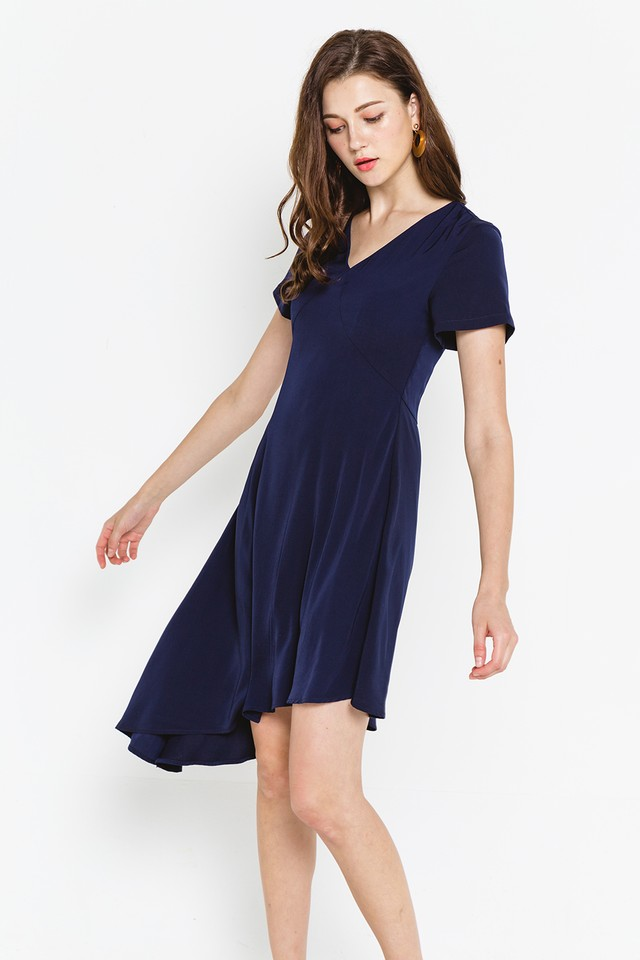 Ashtyn Dress Navy