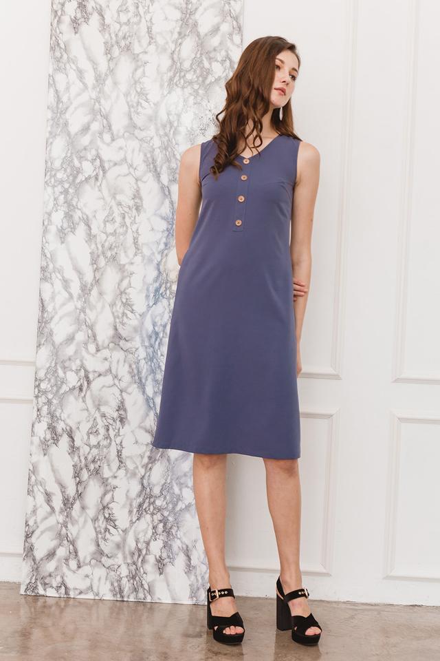 Shaelyn Dress Ash Blue